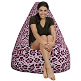 Giraffe style HD printed Canvas bean bag covers xxxl Comfortable Seating for Office and Home by Aart Store Amazon Rs. 1399.00