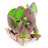 Schaukelpferd Elefant mit Rädern