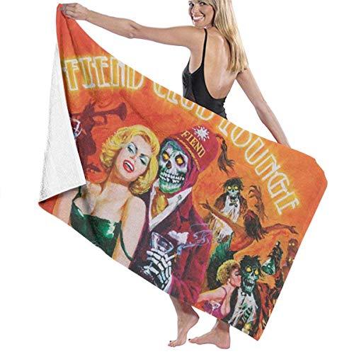 Misfits Gesicht (Ghkjhk8790 Unisex Misfits Fiend Club Lounge Beach Towel)