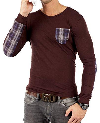 ANTONY MORATO - Kollektion 13 Herren Longsleeve Sweatshirt Pullover 1849 - NEU Modell 5 Dunkelbraun