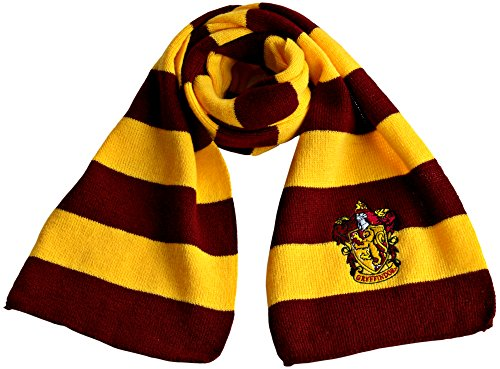 Harry Potter Scarf | Gryffindor Scarf | Perfect Harry Potter Costume Accessory | Great Harry Potter Gift