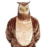 Amakando Antifaz búho Máscara Lechuza Mascarilla Ave Accesorio Disfraz Adulto Careta pájaro Cubre Rostro Carnaval mochuelo