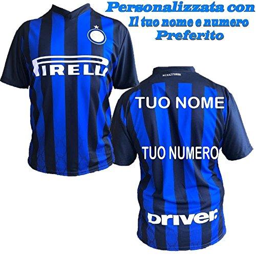 L.C.Sport Srl Camiseta Inter Personalizada F.C. Réplica Internacional 2018/2019 PS 27411 (12 año)