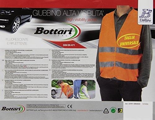Bottari Spa 33701 Haute visibilité - Homme - Orange