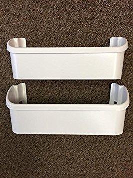 Frigidaire Kühlschrank Tür (240323001Set von 2weiß Tür Mülleimer für Frigidaire/Electrolux Kühlschrank)