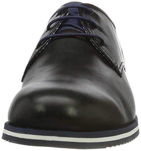 Pikolinos Leon M8e_v17, Scarpe Stringate Basse Oxford Uomo Nero (Black)