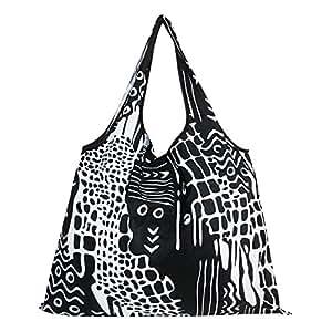 Fashion Design Folding Fold up Reusable Compact Eco Reusable Use Shopping Bag