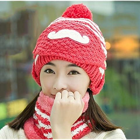 Sombrero Ms Invierno Hacer Otoño E Invierno Ocio Máscaras Wild Bib Plus Terciopelo Ciclismo Gorro De Oído ( Color : 8#