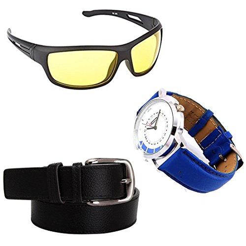 Elligator NightDrive Night Unisex Sunglasses Combo