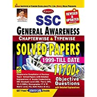 Kiran SSC General Awareness Chapterwise And Typewise Solved Papers 1999 Till Date English (2731)