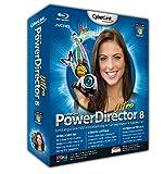 Cyberlink PowerDirector 8 Ultra - Software de video (5000 MB, 512 MB, Pentium 2, 450 MHz/Athlon 64 2800+, 1024 x 768 16-bit, Windows 7/Vista/XP)