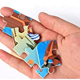 Winkey Toy for Baby Boys Girls, Wooden Puzzle Educational Developmental Baby Kids Training Toy,Puzzle Boxes (H)