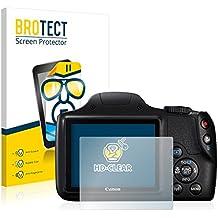 Brotect [2 Pack] Protection écran Canon PowerShot SX540 HS Film Protecteur Screen Protector