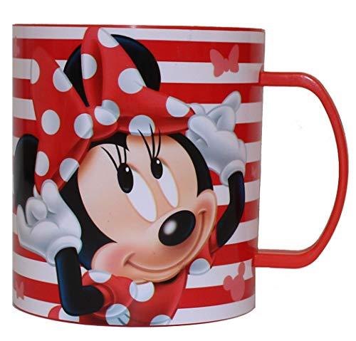 Disney Mikrowellen-Becher Kinderbecher (1 Stück, Minnie Maus)