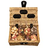 Vegan Sweet Hamper Gift Basket - Perfect Confectionery Present for Him or Her, Husband or Wife, Boyfriend or Girlfriend, Son or Daughter