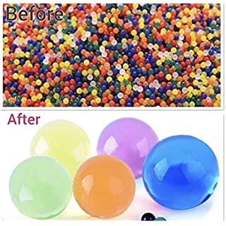 5000 Aqua Gel Soil Crystal Expanding Colourful Beads Jelly absorbing amazing balls Vase Filler Decorations Orbeez water bead Magic growing ball home decor - Packed & Quality Controlled by a UK SELLER.