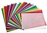 Transparentpapier, farbig sortiert