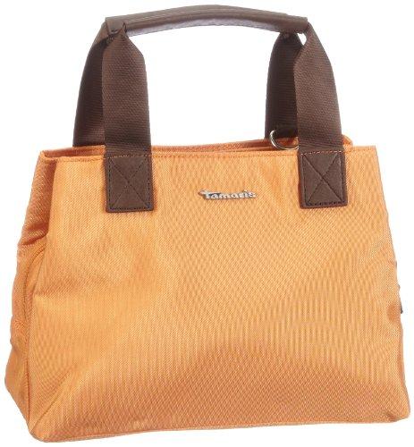 Tamaris MIA Handbag A625-16-81-291-606, Borsa con manico donna, 28 x 20 x 13 cm (L x A x P) Arancione (Orange (orange 606))