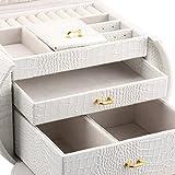 LANGRIA-Caja-Joyero-Caja-para-Joyeras-Organizador-de-Anillo-Pendientes-Pulseras