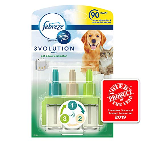 Ambi Pur 20 ml 3Volution Pet Air Freshener Plug-in Refill - Pack of 6
