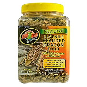Zoo Med Juvenile Bearded Dragon Food - 283g
