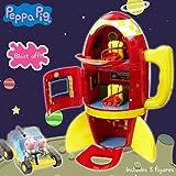 Peppa Pig Spaceship Adventure Playset with Moon Buggy