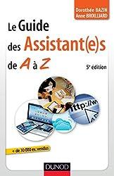 Le guide des assistant(e)s de A à Z - 5e édition