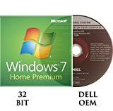 Windows 7 Home Premium 32 bit OEM DVD + Activation key DELL branded