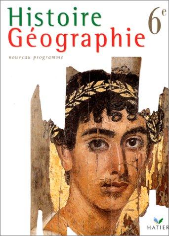 HISTOIRE GEOGRAPHIE 6EME. Programme 1998 par Collectif, Martin Ivernel