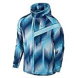 Nike Herren M NK IMPOSSIBLY Light Running Jacket PR Lauf Regenjacke, Binarisches Lebendiger Himmel blau, XL