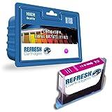 Refresh CARTRIDGES Cartouche d'encre compatible rechange pour Xerox 8r7973 - Y102 (Magenta)