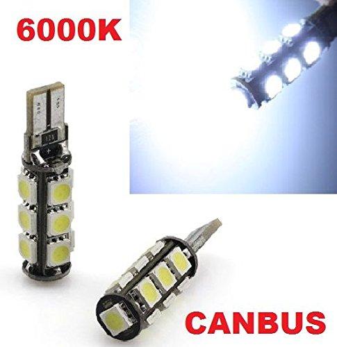 Preisvergleich Produktbild INION® 13er Xenon Look LED Standlicht,  Lampen LED Soffiten Birnen mit INTENSIVE LEUCHTKRAFT T10,  CanBus,  Xenon Weiss ca.6000K 12V