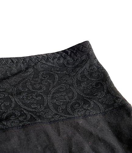 ... Panties Damen Slip Hipster Taillenslips 95% Baumwolle Nahtlos Maxi  Panty Miederpants Elastic Unterhosen Unterwäsche Schwarz ... 04c141cfa7