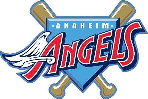Anaheim Angels Logo MLB Baseball Car Bumper Sticker Decal 12 x 10 cm