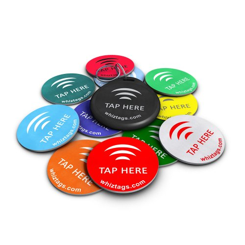nfc-tags-ntag213-chip-10-pack-keychain-free-bonus-tag-android-writeable-programmable-adhesive-sticke