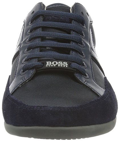 Boss Green Spacit 10167195 01, Baskets Basses Homme Bleu (Navy 417)