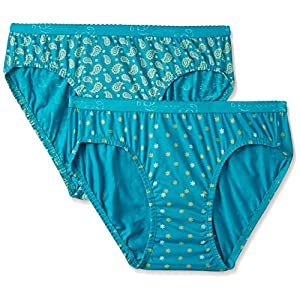 Jockey Women's Cotton Bikini (Assorted)(Colors & Print May Vary)