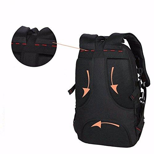 TBB-Zaino Borsa di alpinismo sportivo outdoor capacità grande borsa da viaggio fashion double borse tracolla,blu Blue