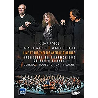 Chung, Argerich, Angelich: Live at the Théatre Antique D'Orange [DVD]