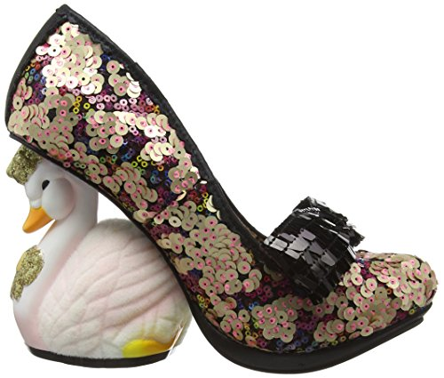Irregular Choice Savan, Escarpins femme Bleu - Blue (Navy Multi)