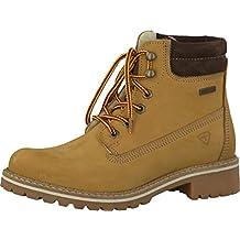 Tamaris Schnür Boots braun  