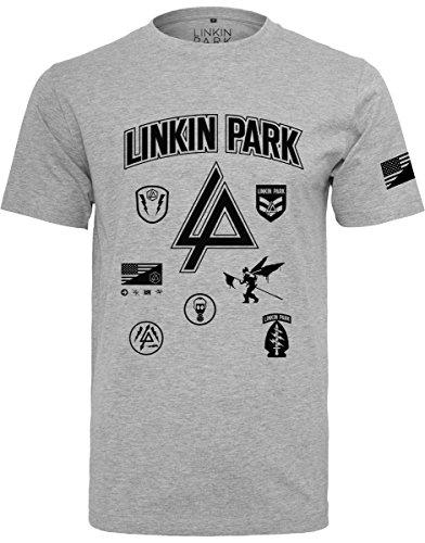 MERCHCODE Merch C/ódigo Hombre Linkin Park Parches tee/ /Camiseta