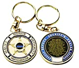 Best Deputy - Deputy Sheriff's Prayer Challenge Coin Style Keychain Review