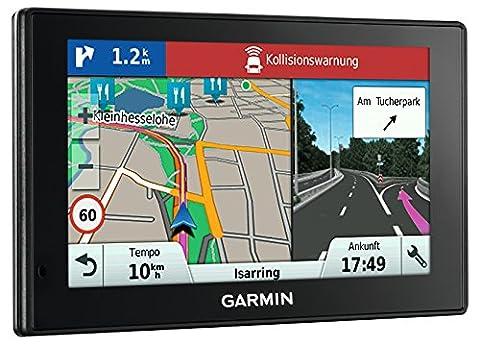 Garmin DriveAssist 50 LMT-D EU Navigationsgerät (12,7cm (5 Zoll) Touch-Glasdisplay, lebenslange Kartenupdates, Verkehrsfunklizenz, Dash (Navi Sprachsteuerung)