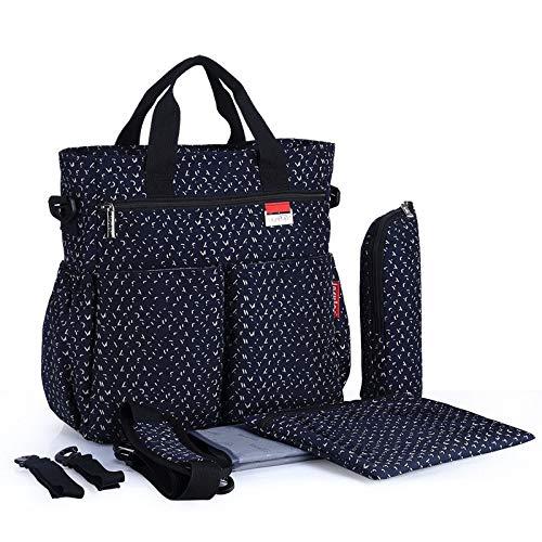 LFGCL Taschen womenMultifunktions-Mumienbeutelkapazität tragbare Muttertasche Mutter- und Babytasche, Sternblau