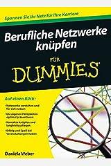 Berufliche Netzwerke knüpfen für Dummies Taschenbuch