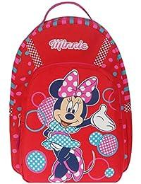 Preisvergleich für Kinder Rucksack - Disney - Minnie Mouse - Minnie Maus - mit Hauptfach - rot