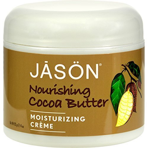 JASON Nourishing Cocoa Butter Moisturizing Creme, 4 Ounce Tub by Jason [Beauty] (English Manual)