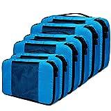 Kleidertaschen Koffer Organizer Set, Netspower 6er Kofferorganizer Reisetaschen Packtaschen...
