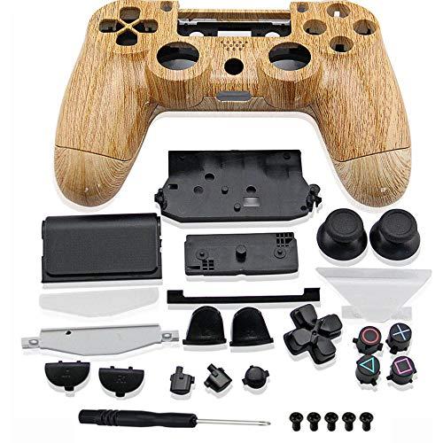 Gehäuse und Tasten für PS4 Dualshock 4 (nur GEN 1) Hydro getauchte Holzmaserung, Mod - Hydro-stick